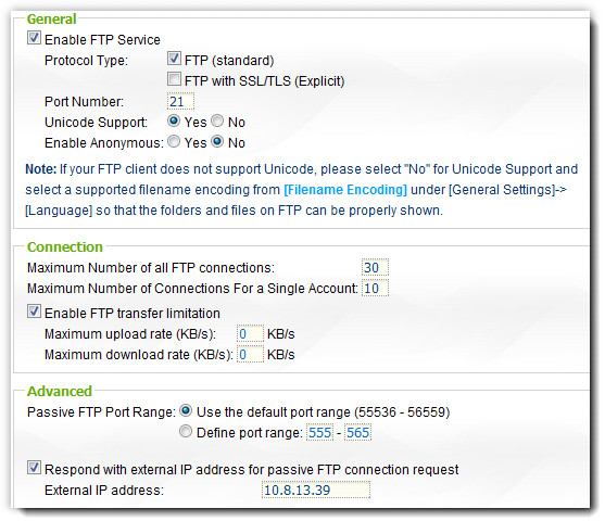 NAS-Qnap-FTP-Server-Picture-Setting - IT Support Singapore