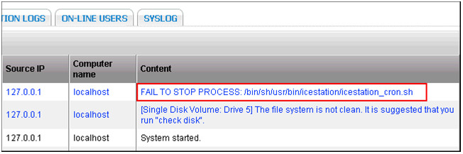 Qnap File system is not clean - IT Support Singapore Company